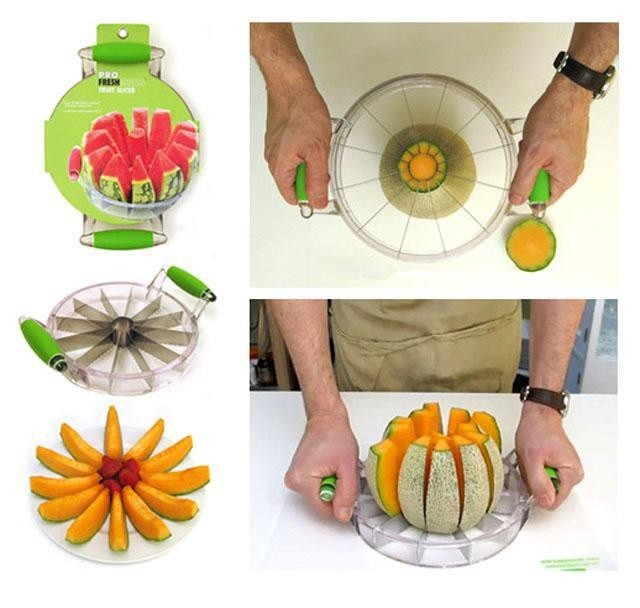 Messer fuer Melonenschneiden
