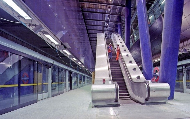 North Greenwich Station in London