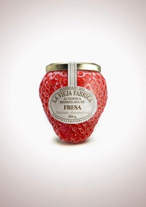 Obstformen entsprechen dem Marmelade-Geschmack