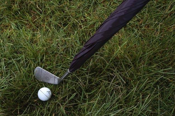 Regenschirm Golfclub 1
