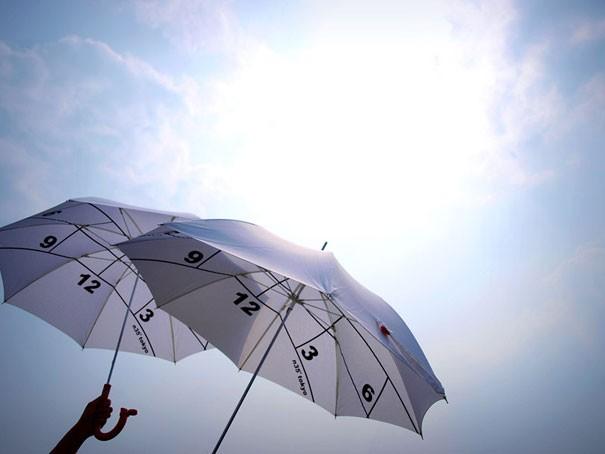 Regenschirm Uhren