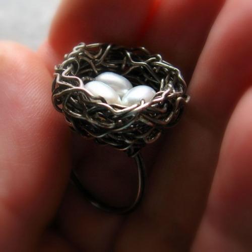 Ring als Nest
