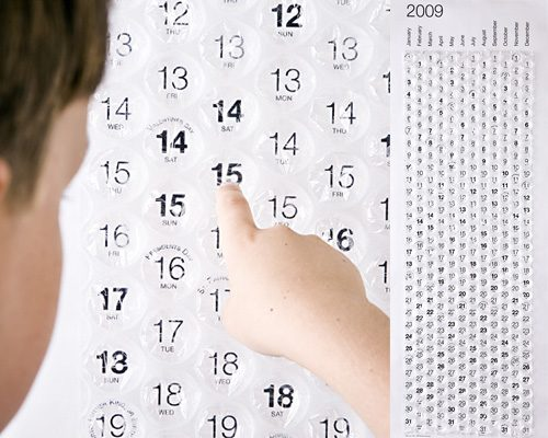 Schmatzender Kalender
