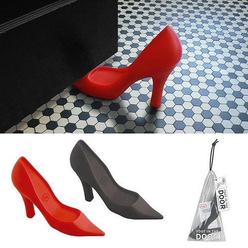 Schuhe Stopper fuer Tueren