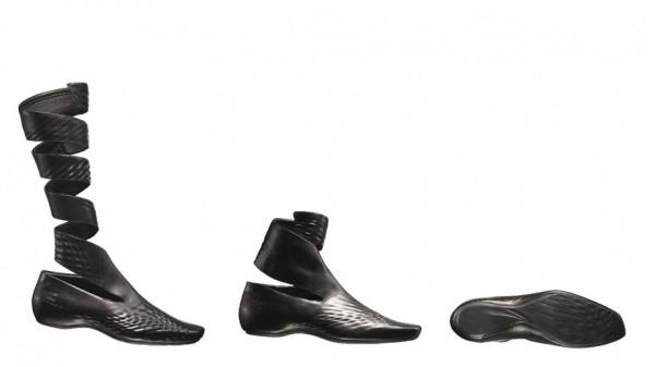 Schuhe von Zaha Hadid fuer Lacoste