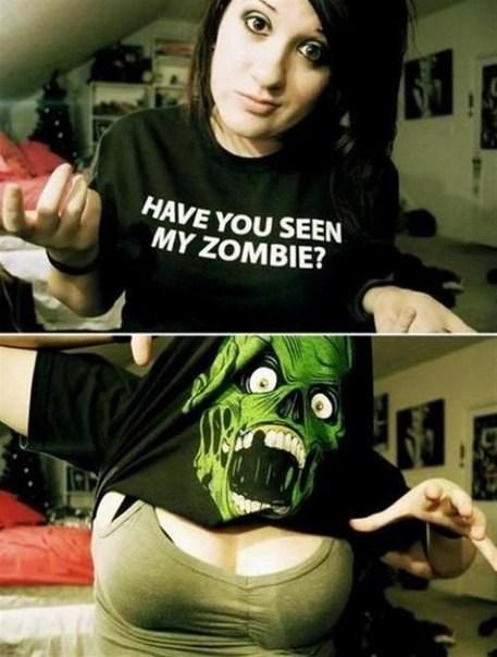 Sie haben keine Zombies gesehen