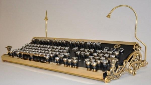 Steampunk Tastatur 1