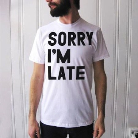 T-Shirt Entschuldigung