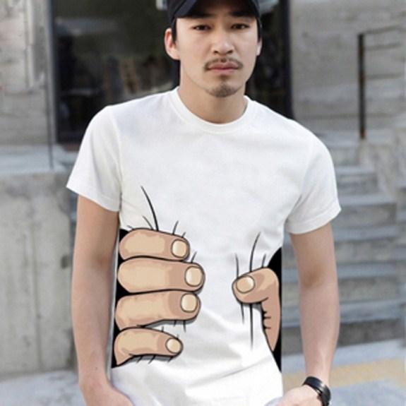 T-Shirt fuer Schlanke