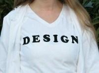 T-Shirt mit einer Botschaft 2