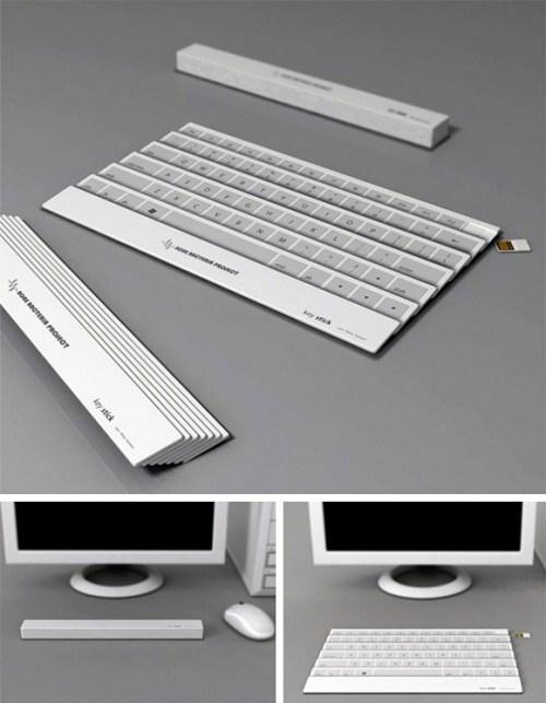 Tastatur-Faecher