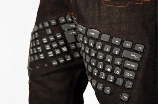 Tastatur in Hosen 1