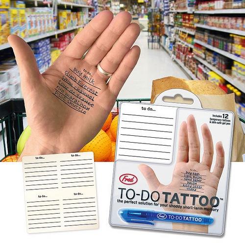 Tattoo Vergiss nicht