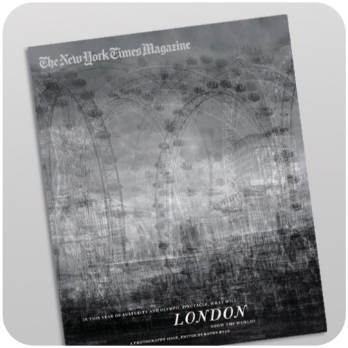 The New York Time Magazine. 4. Maerz. London Eye