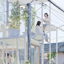 Transparentes Haus in Japan 1