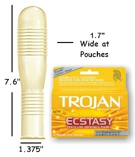 Trojan Ultra-Ribbed Ecstasy