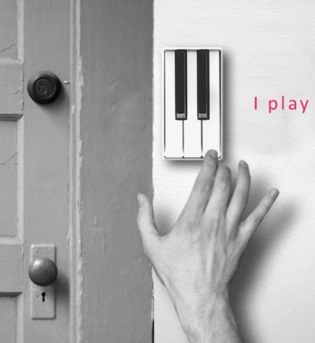 Tuerklingel Klavier