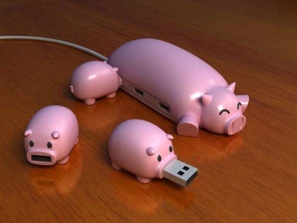 USB-Schweine