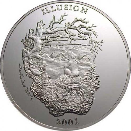 Uganda, 2001, Muenze Illusion