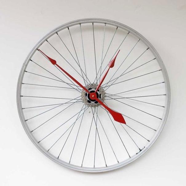 Uhr als Rad