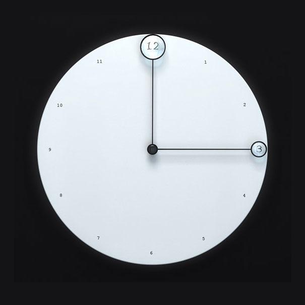 Uhr als kleine Zeit