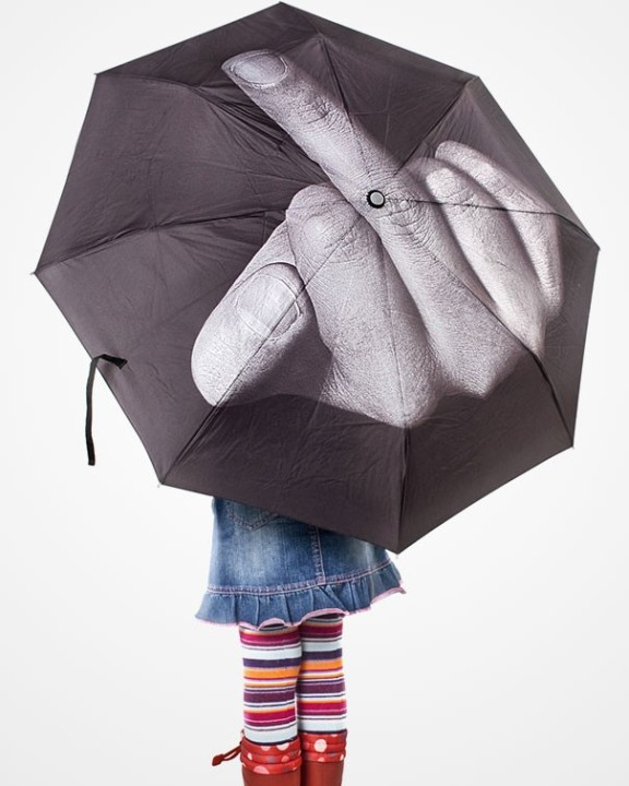 Umbrella Nein dem Regen
