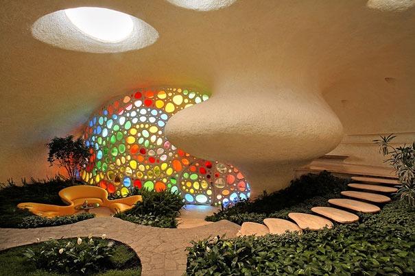 Venusmuschel Haus in Mexiko 1