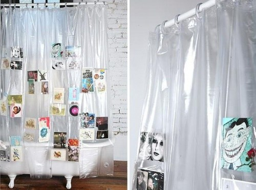 Creative duschvorhaenge for Cool bathroom curtains