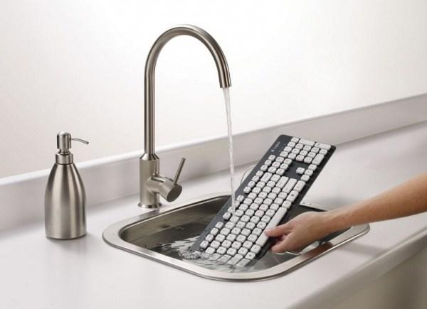 Wasserdichte Logitech-Tastatur
