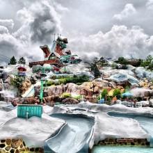 Waterpark im Stil Disney