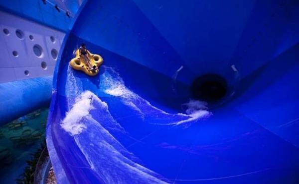 Waterpark in dem olympischen Wasser-Kubus 2