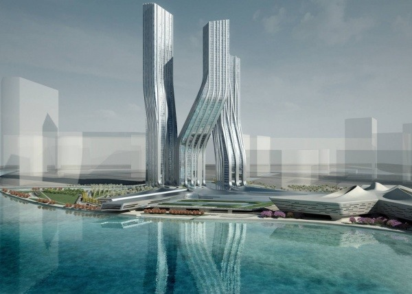 Wolkenkratzer Signature Towers in Dubai
