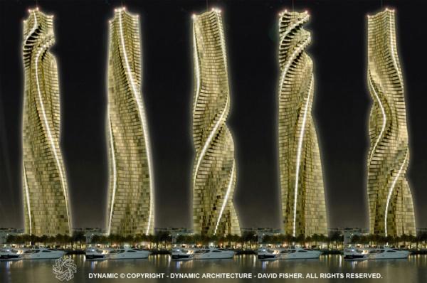 Wolkenkratzer in Dubai 1