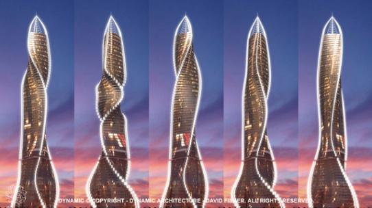 Wolkenkratzer in Moskau 1