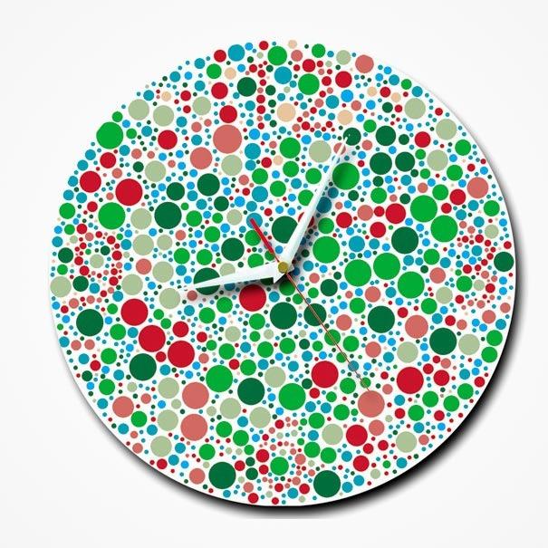 farbenblinde Uhr