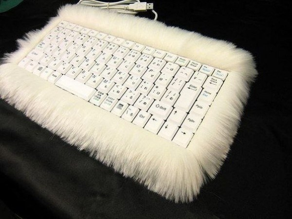 flauschige Tastatur