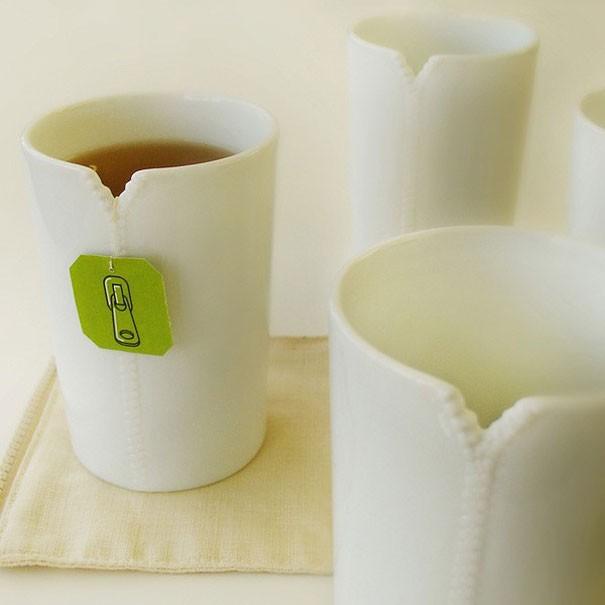 Becher mit einem Reissverschluss von Designer Megawing