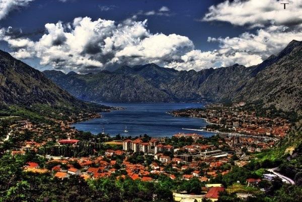 Bucht von Kotor, Montenegro, Kroatien