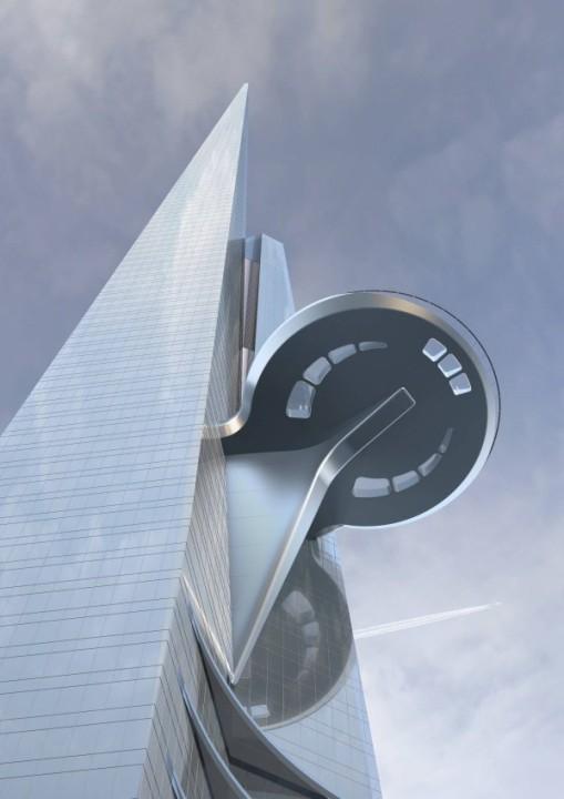 Das höchste gebäude der welt Burj Khalifa 7