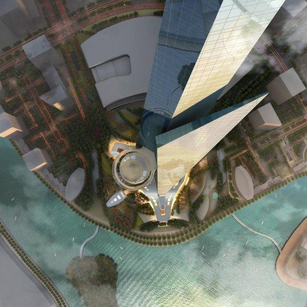 Das höchste gebäude der welt Burj Khalifa 8