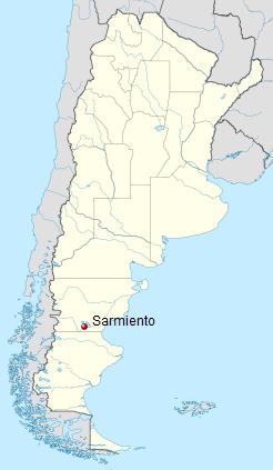 Der kalteste Platz in Südamerika ist der argentinische Stadt Sarmiento