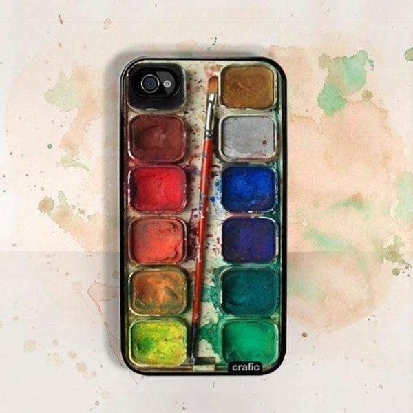 Eine Reihe von Aquarell-Farben
