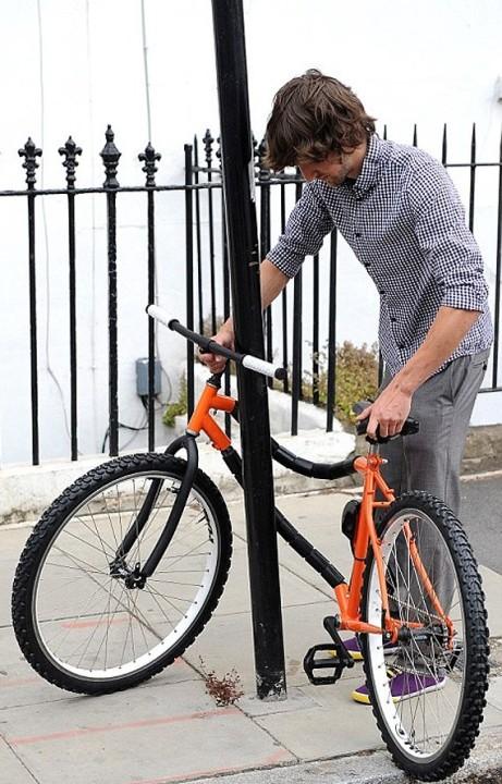 Fahrrad mit Diebstahlsicherung 1