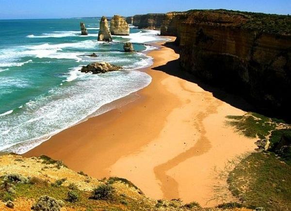 Great Ocean Road, die Suedwestkueste von Victoria, Australien