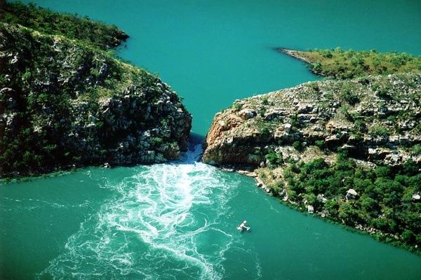Horizontaler Wasserfall, Talbot Bay, Australien 2