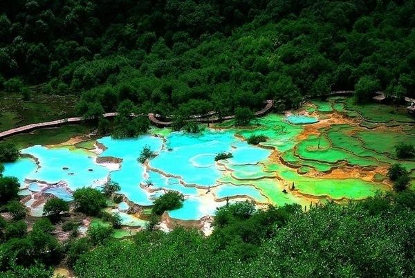Huanglong, Nordwesten Sichuan, China