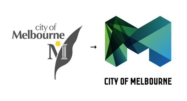Logo fuer die Stadt Melbourne