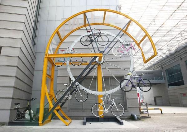Parkplatz-Rad