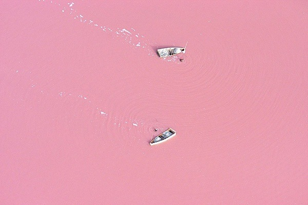 Pink Lake Retba, Senegal