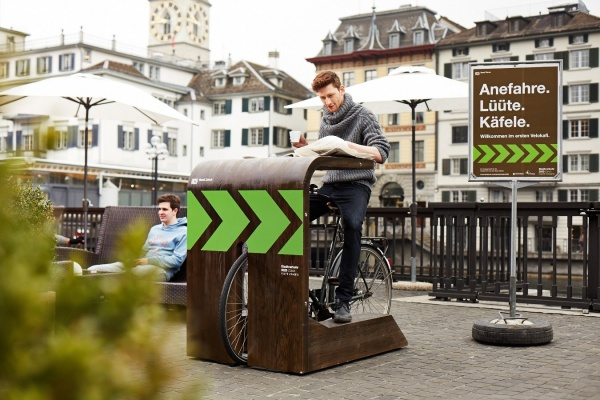 Schweiz Fahrrad-Cafe 1